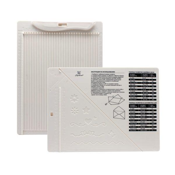 Доска для создания конвертов и открыток Рукоделие 21,5x16,2x0,7см