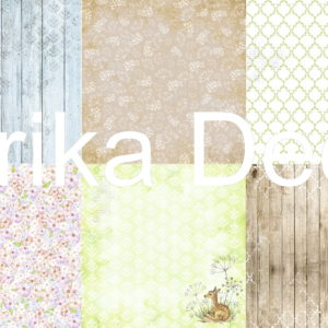 Листы скрапбумаги Smile of Spring, 20 Х 20 см, Фабрика Декору