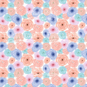 Лист скрапбумаги Цветочное настроение,Фабрика Декору 7