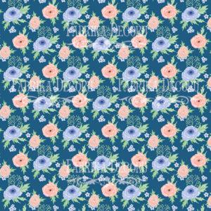 Лист скрапбумаги Цветочное настроение,Фабрика Декору 9