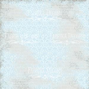 Лист скрапбумаги Shabby memory, Фабрика Декору 7