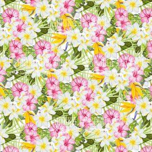 Лист скрапбумаги Tropical paradise, 20 Х 20 см, Фабрика Декору 3