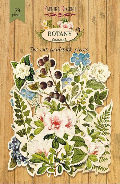 Набор высечек, коллекция Botany summer, 59шт