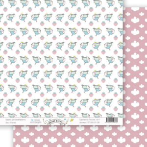 Лист бумаги Весело шагать 30,5 на 30,5 см 8