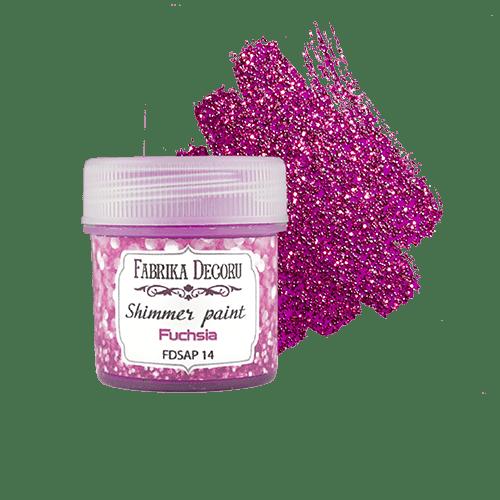 Kraska-s-glitterom-Shimmer-paint-cvet-Fuksiya