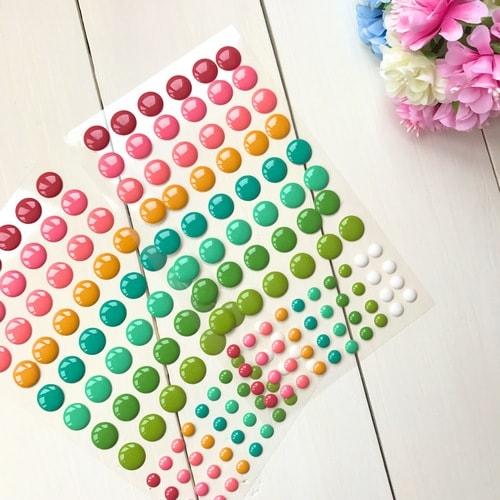 Дотсы разноцветные